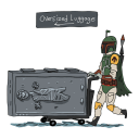 Oversized Luggage - The Star Wars Official T-shirt