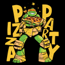 Pizza Party - TMNT Official T-shirt