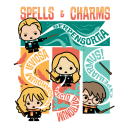 Spells & Charms Chibi - Harry Potter Official T-shirt