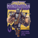 The Mandalorian: Signed Up - Star Wars Official T-shirt