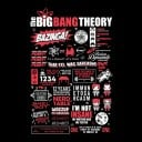 TBBT: Infographic - The Big Bang Theory Official T-shirt