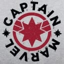 Captain Marvel Logo - Marvel Official T-shirt