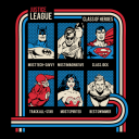 Class Of Heroes - Justice League Official T-shirt