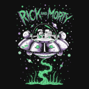 Cruising In Space - Rick And Morty Official T-shirt