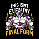Frieza: Final Form -  Dragon Ball Z Official T-shirt