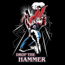Drop The Hammer (Glow In The Dark) - Marvel Official T-shirt