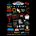 F.R.I.E.N.D.S Infographic - Friends Official Full Sleeve T-shirt