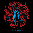 A Message From The Night King - Game Of Thrones Official T-shirt
