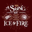 A Song Of Ice & Fire - Game Of Thrones Official T-shirt