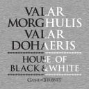 Valar Morghulis - Game Of Thrones Official T-shirt