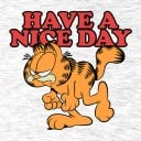 Garfield: Have A Nice Day - Garfield Official T-shirt