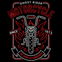 Ghost Rider Motorcycle Club - Marvel Official T-shirt