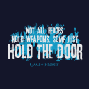 Hold The Door - Game Of Thrones Official T-shirt