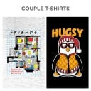 Couple Tees: Friends: Apartment #20 & Hugsy - Friends Official T-shirt