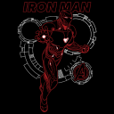 Iron Man: Mark L Interface - Marvel Official T-shirt