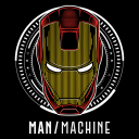 Iron Man Mask (Glow In The Dark) - Marvel Official T-shirt
