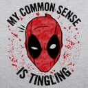 My Common Sense Is Tingling - Marvel Official T-shirt