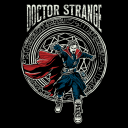 The Sorcerer Supreme (Glow In The Dark) - Marvel Official T-shirt