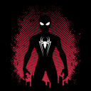 Spidey Silhouette - Marvel Official T-shirt