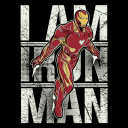 The Invincible Iron Man (Glow In The Dark) - Marvel Official T-shirt