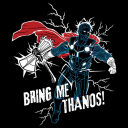 Bring Me Thanos (Glow In The Dark) - Marvel Official T-shirt