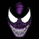 Venom Face (Glow In The Dark) - Marvel Official T-shirt
