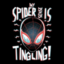 Miles Morales: Spidey Senses (Glow In The Dark) - Marvel Official T-shirt