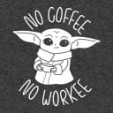 No Coffee No Workee - Star Wars Official T-shirt