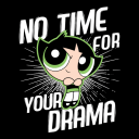 Buttercup: Drama - The Powerpuff Girls Official T-shirt