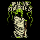 Real The Struggle Is - Star Wars Official T-shirt