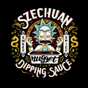 Grandpa's Dipping Sauce - Rick And Morty Official T-shirt