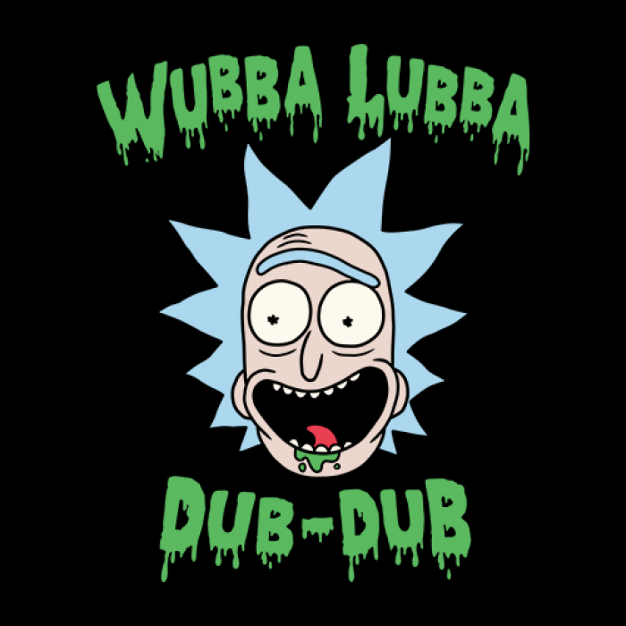Rick And Morty Wubba Lubba Dub Dub