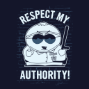 Cartman: Respect My Authority  - South Park Official T-shirt