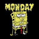 SpongeBob: Monday - SpongeBob SquarePants Official T-shirt