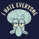 I Hate Everyone - SpongeBob SquarePants Official T-shirt
