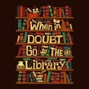 Go To The Library - Women's T-shirt