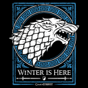 House Stark Emblem (Glow In The Dark) - Game Of Thrones Official Hoodie