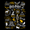 Harry Potter: Infographic - Harry Potter Official Hoodie