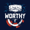 Worthy - Marvel Official Sleeveless Hoodie