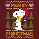 Merry Christmas - Peanuts Official Light Pullover