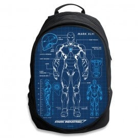 Iron Man Blueprint - Marvel Official Backpack