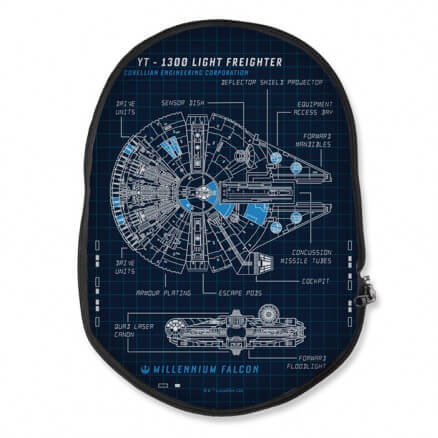 Millennium Falcon Blueprint - Star Wars Official Backpack