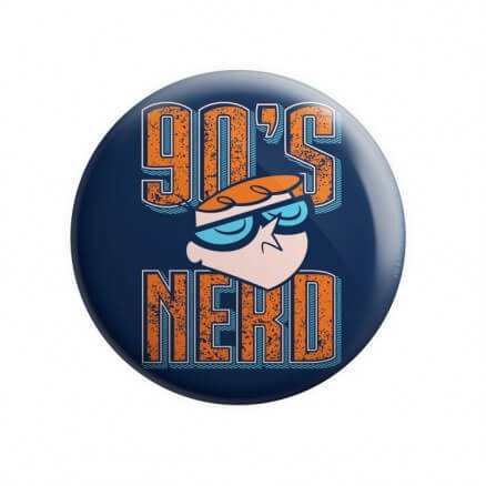90s Nerd - Dexter's Laboratory Official Badge