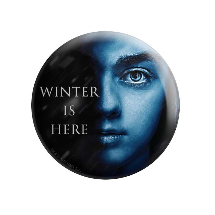Arya Stark: Winter Is Here - Game Of Thrones Official Badge