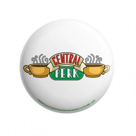 Central Perk - Friends Official Badge