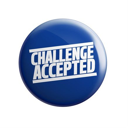 HIMYM: Challenge Accepted - Badge