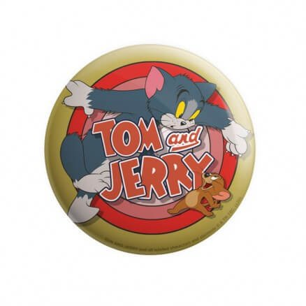 Classic Duo - Tom & Jerry Official Badge