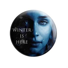 Daenerys Targaryen: Winter Is Here - Game Of Thrones Official Badge