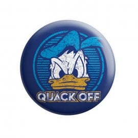 Quack Off - Disney Official Badge