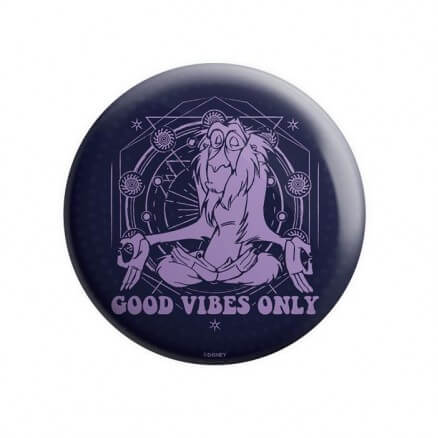 Rafiki: Good Vibes Only - Disney Official Badge